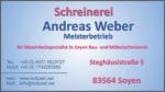 Schreinerei Weber